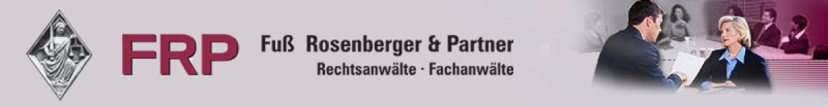 FRP Fuß Rosenberger & Partner